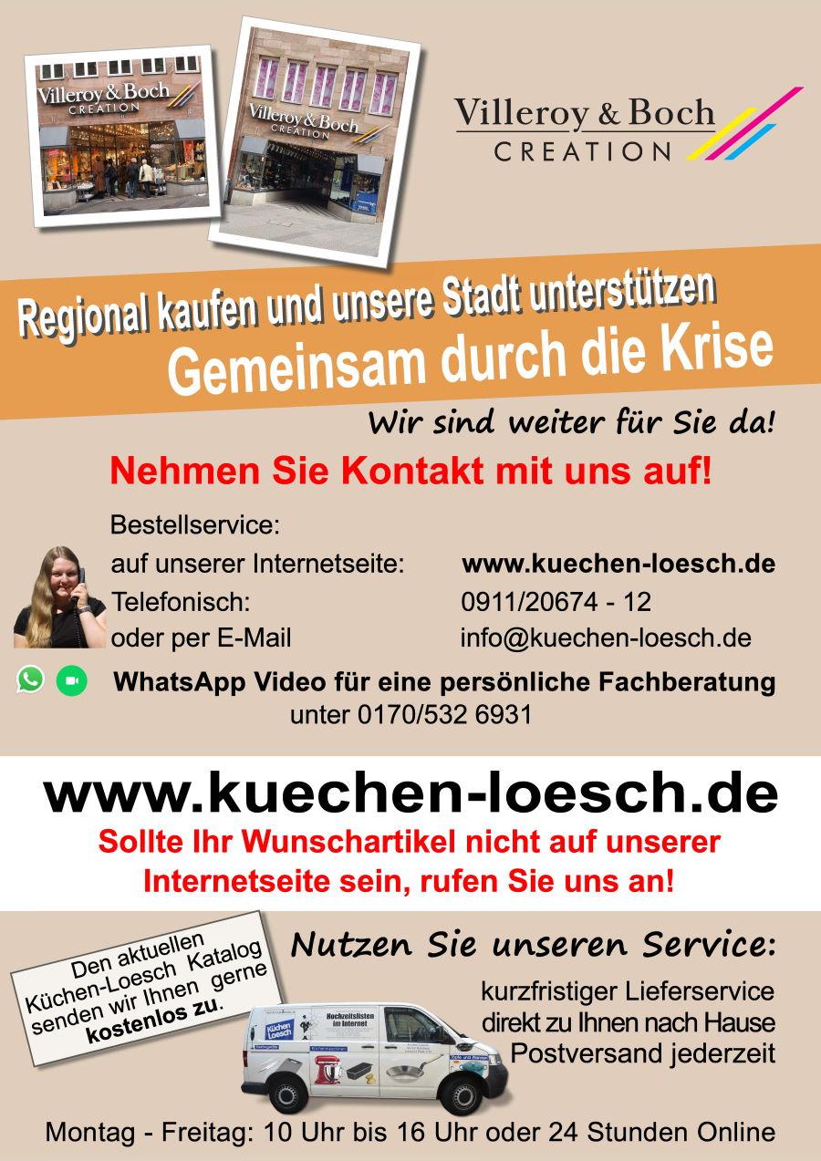 Villeroy Boch Nürnberg regional gemeinsam